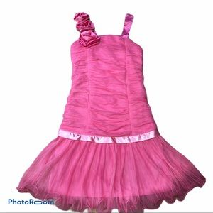 Amy Byer crinkle dress